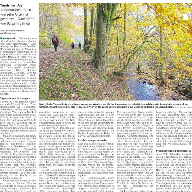 Nahe-Zeitung, 16.11.2016