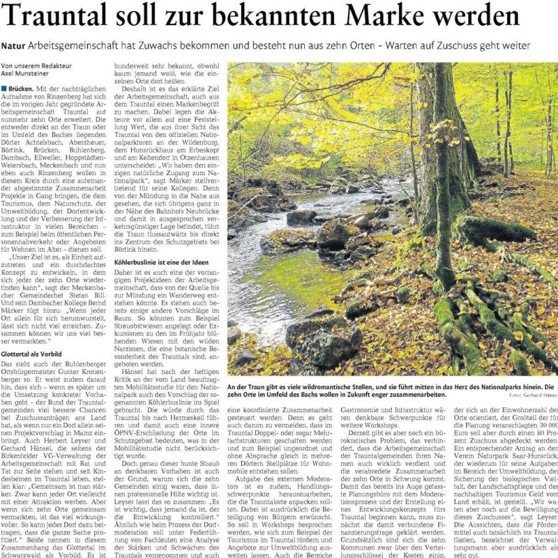 Nahe-Zeitung, 29.06.2016